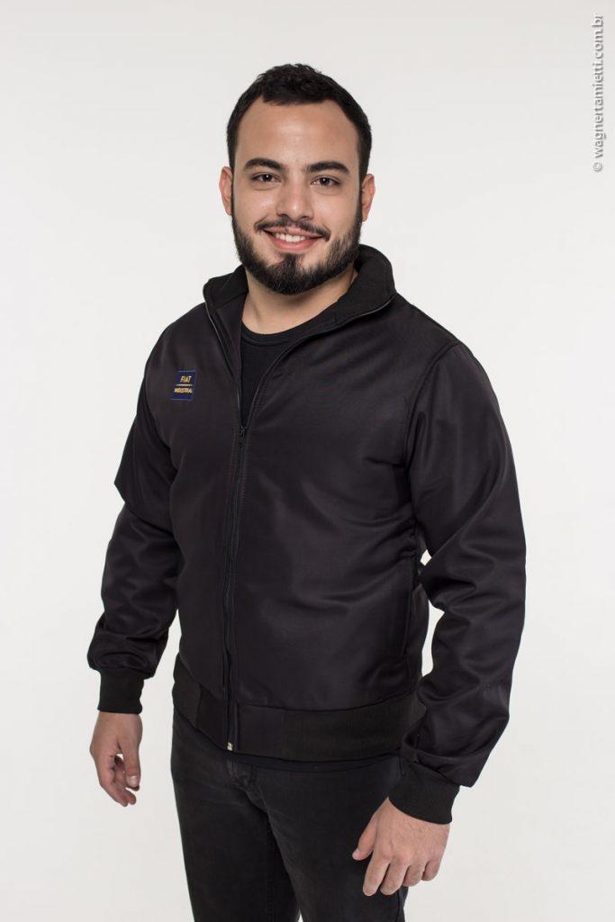 Jaqueta de uniforme em adis