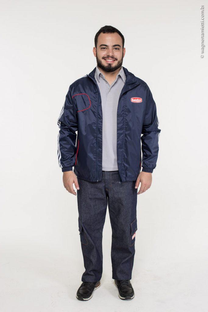 Jaqueta de naylon para empresa