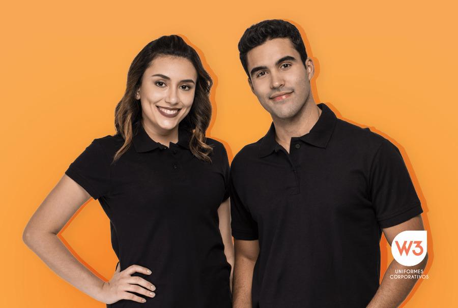 uniformes pretos - imagem ilustrativa para texto sobre peças corporativas