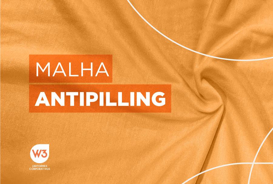 Malha antipiling – evite surgimento de bolinhas nos uniformes