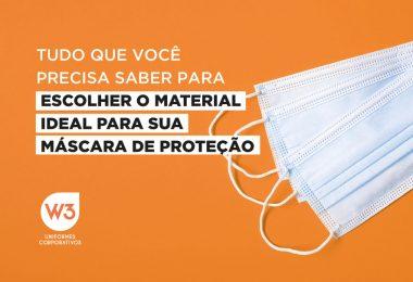 Material para máscara de proteção