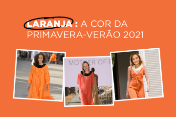 Cor laranja nos uniformes
